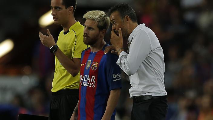 Enrique & Messi