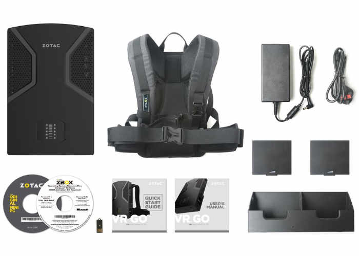 Perlengkapan Zotac VR GO Backpack