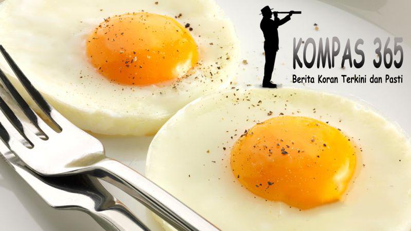 Makan Sebutir Telur Sehari Dapat Mencegah Penyakit Stroke