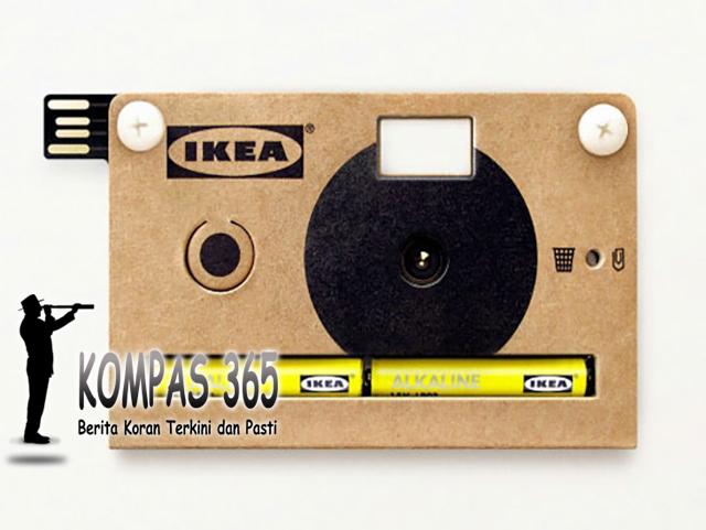 Wow!!! Kamera Tipis Ini Terbuat Dari Kardus?