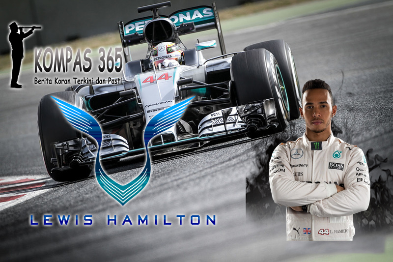 Lewis Hamilton Pimpin Free Pratice II GP Abu Dhabi