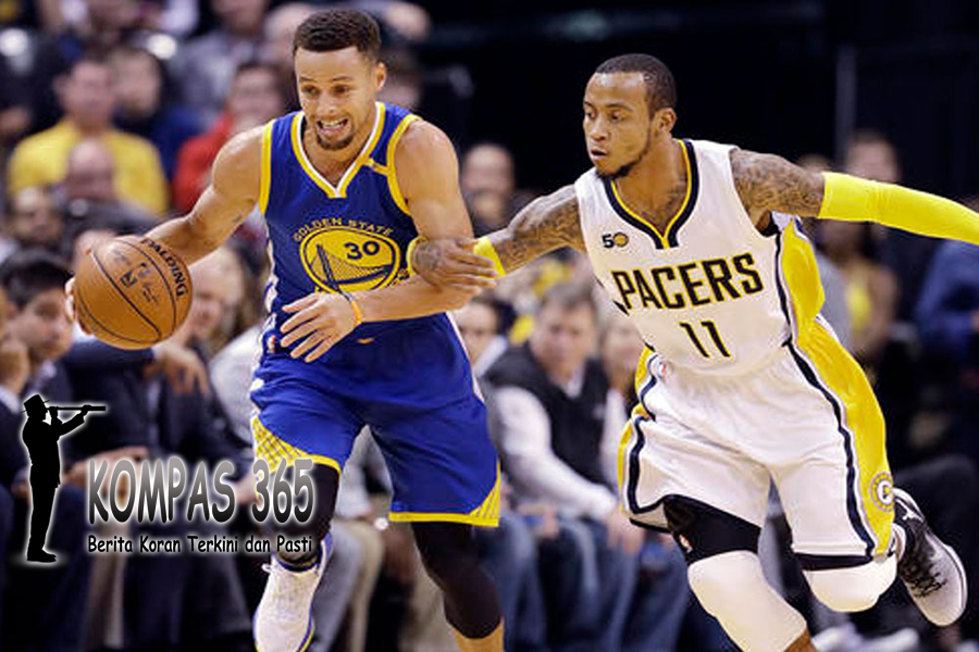 Warrios Melawan Indiana Pacers