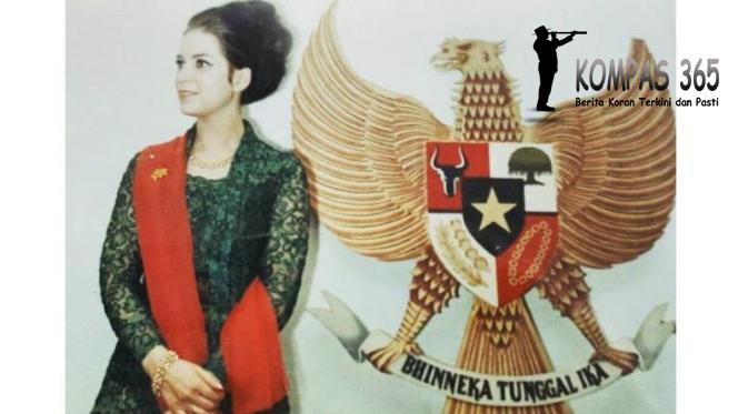 Foto Cantik Ibunda Cantik digunakan Untuk membangkitkan Nasionalisme