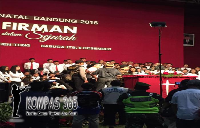 Kebaktian KKR Di Bandung Dibubarkan