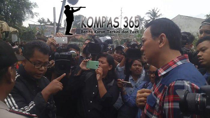 Penghadangan kembali terjadi kepada calon Gubernur DKI Jakarta, Basuki Tjahaja Purnama atau yang di panggil AHOK