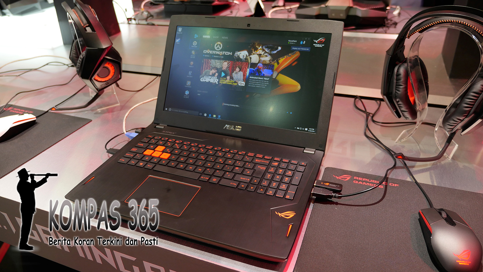 Laptop Gaming Asus ROG GL702