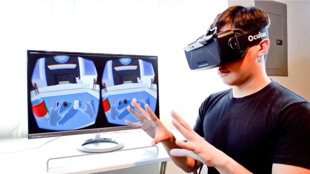 Ocolus Rift VR