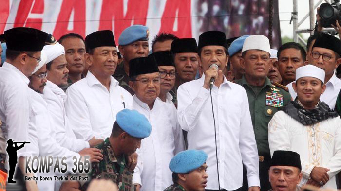 Kejutan Kedatangan Presiden dan Wapres Saat Doa