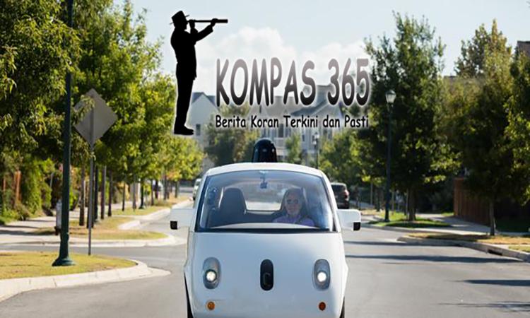 mobil otonom google