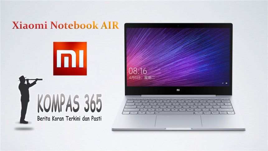 xiaomi rilis notebook air