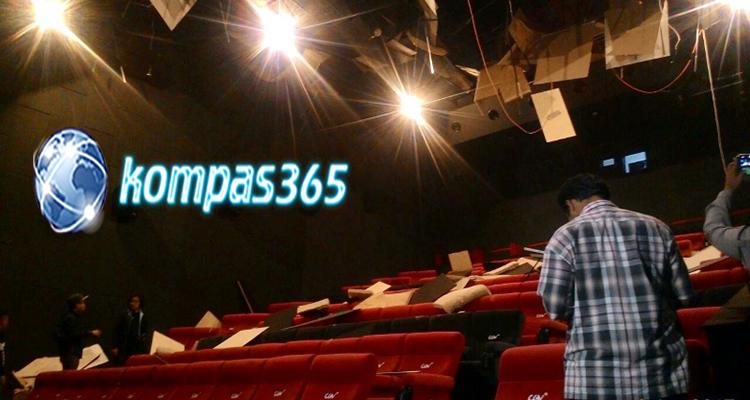Bioskop Hancur disalah satu Mall Medan