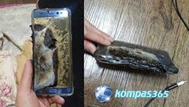 Setelah Di Telusuri, Penyebab Terbakarnya Samsung Note 7