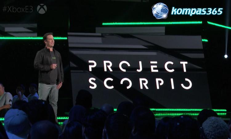 tanggal peluncuran xbox scorpio
