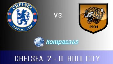 hasil pertandingan chelsea vs hull city 23 januari 2017