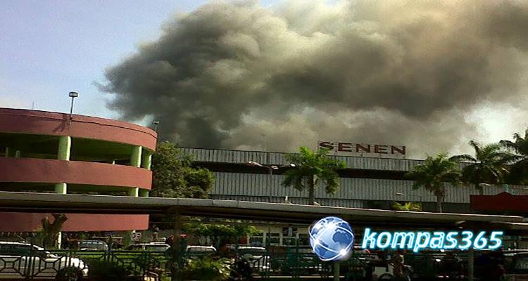 Ruginya Para Pedagang Akibat Kebakaran pasar Senen