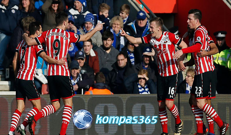 southampton vs leicester city 22 januari 2017
